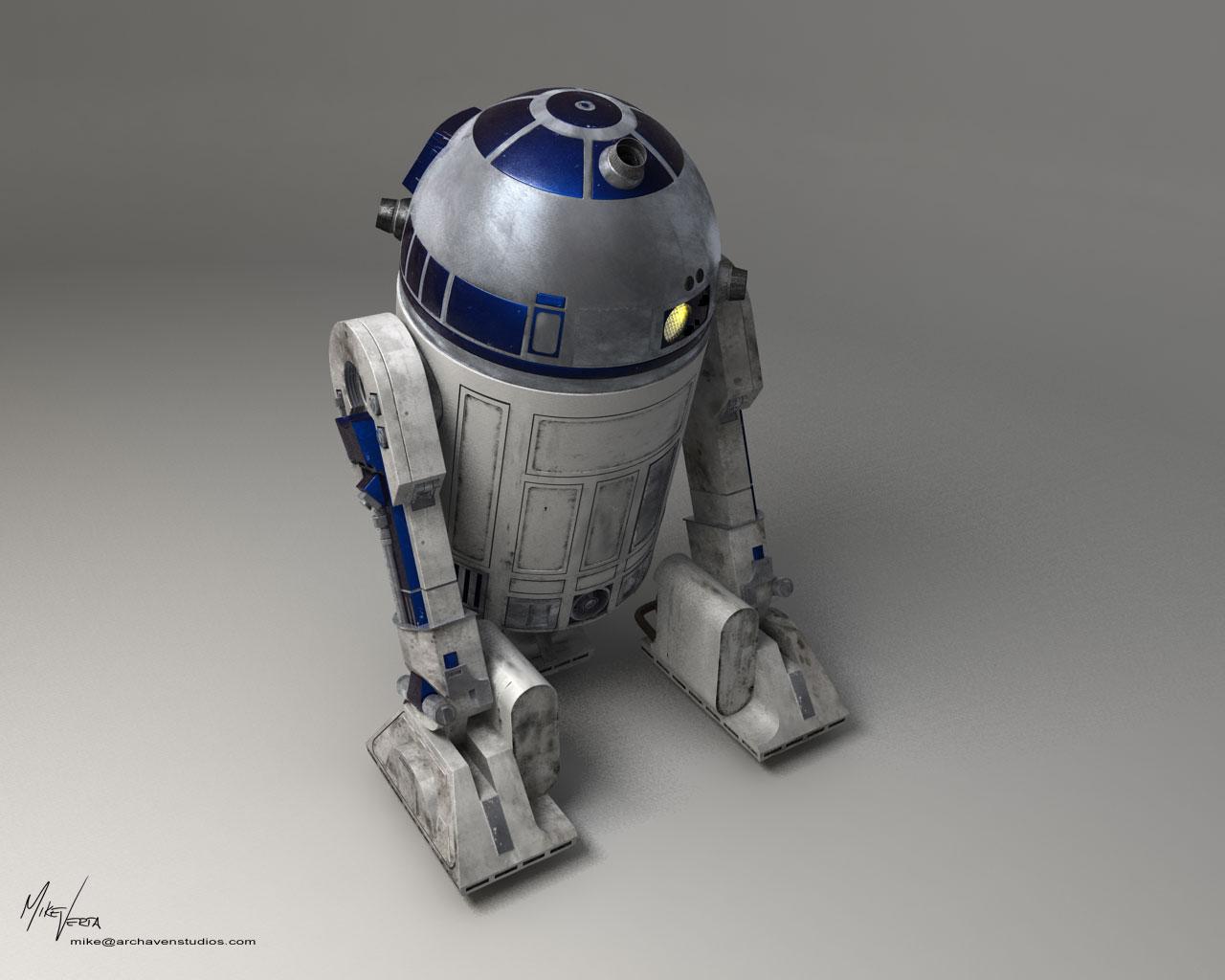 R2d2 Back R2-D2